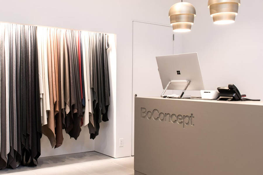 BoConcept Rose Street Edinburgh Retail Cleaning Snowdrop Cleaning Services