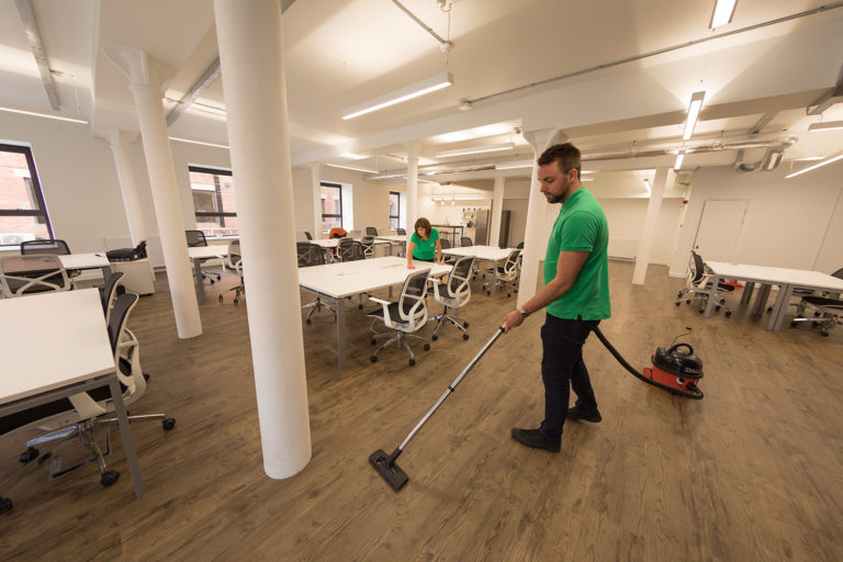Snowdrop Services provide Foxglove Offices with office cleaning in Leith, Edinburgh
