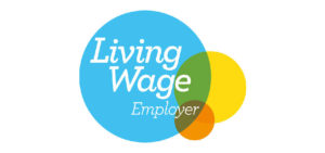 Snowdrop Services Cleaning Edinburgh-Real Living Wage Employer logo